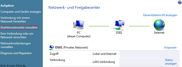 Windows Vista (WLAN - manuelle Installation) 3